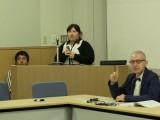 Katayama Kazumi speaking on learning Ainu in community