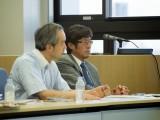 Round table moderators Naoki Sudo & Takao Katsuragi